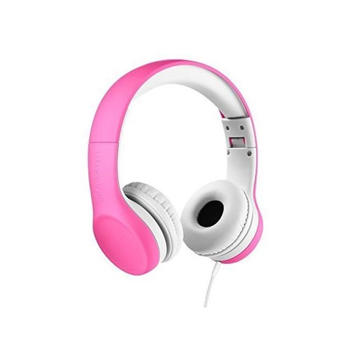 AMALEN Premium Volume Limited Control Wired Headphones with SharePort and Microphone Stereo Lightweight Adjustable Foldable Headset for Kids