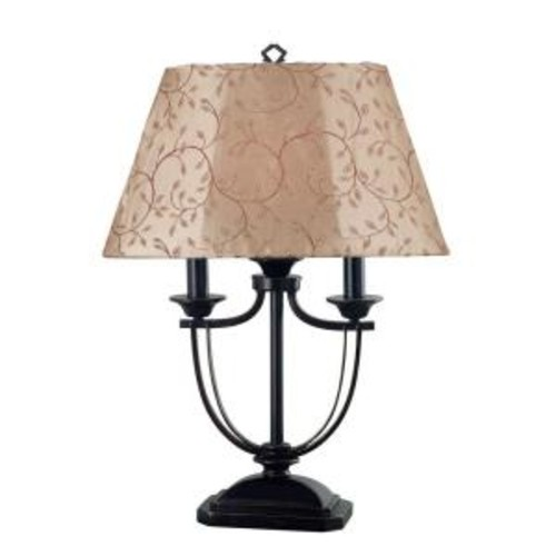 Kenroy Home Belmont 28 in. Oil-Rubbed Bronze Outdoor Table Lamp