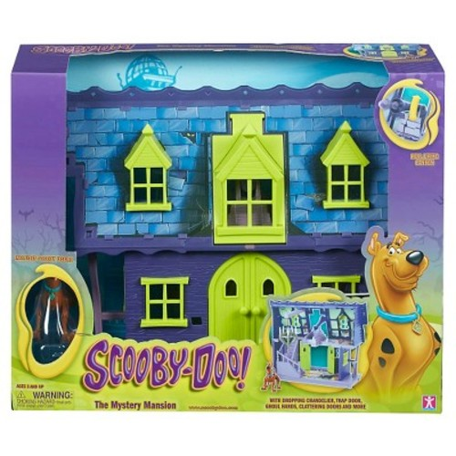 Quest Scooby Doo Mystery Mansion Playset Monsters And Horror Figures