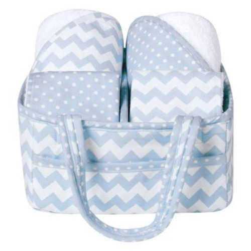 Trend Lab 5 Piece Blue Sky Baby Bath Gift Set
