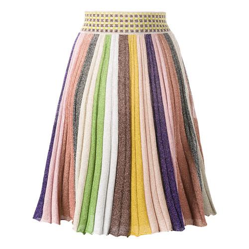 MISSONI Stripe Rainbow Skirt