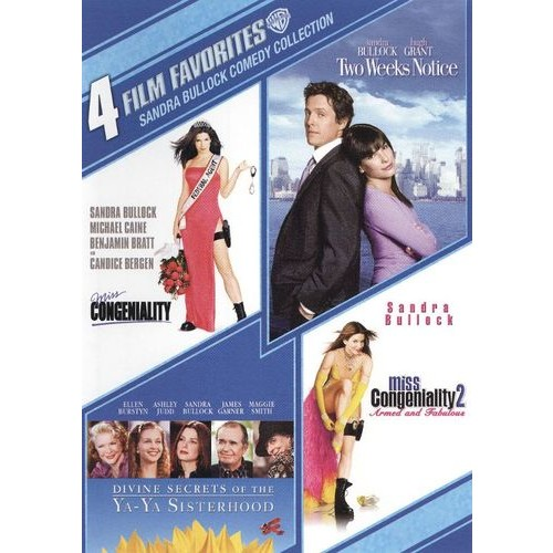 4 Film Favorites: Sandra Bullock Comedy Collection [4 Discs] [DVD]