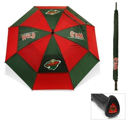 Team Golf Minnesota Wild 62 Double Canopy Umbrella