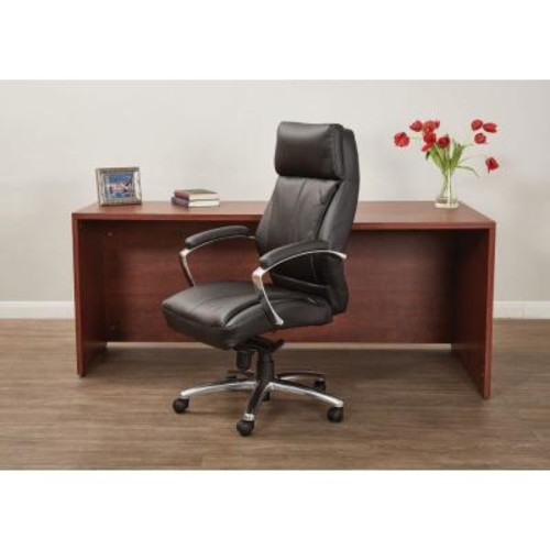 Pro-Line II Black Bonded Leather Executive Office Chair