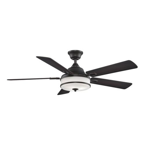 Fanimation Stafford Ceiling Fan [option : Brushed Nickel, Walnut, Cherry Wood Blades]