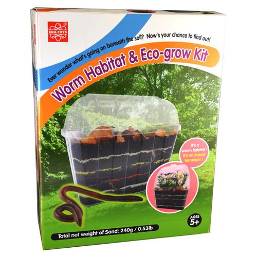 Green Toys Learning & Educational Toys EDU-Toys Worm Habitat