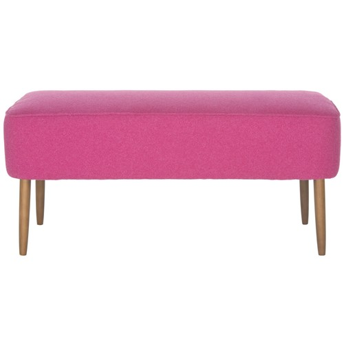 Levi Bench in Berry design by Safavieh