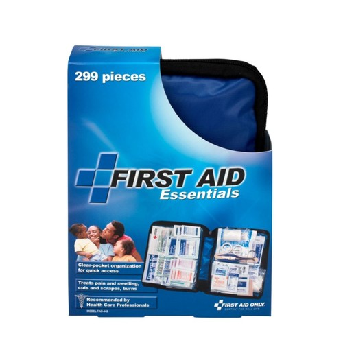 First Aid Only All-Purpose Essentials Soft-Sided First Aid Kit, 9 1/4