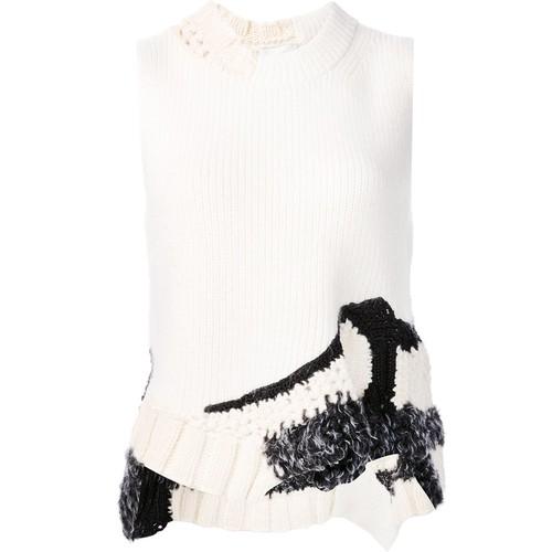 hand-crocheted tank top