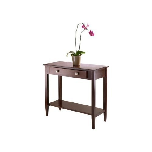 Winsome Wood Winsome Richmond Console Hall Table Tapered Leg