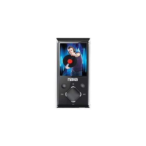 Naxa NMV173SL Portable Media Player (Silver) 1.8in LCD Screen Built In 4Gb Memor