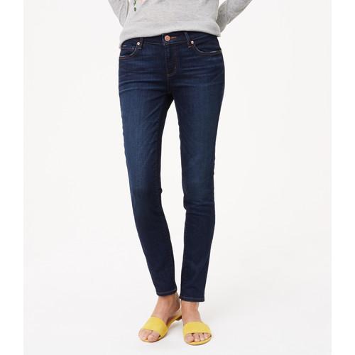 Curvy Skinny Jeans in Dark Indigo