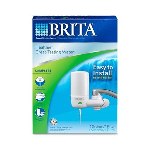 Brita On Tap Faucet Water Filter System COX42201
