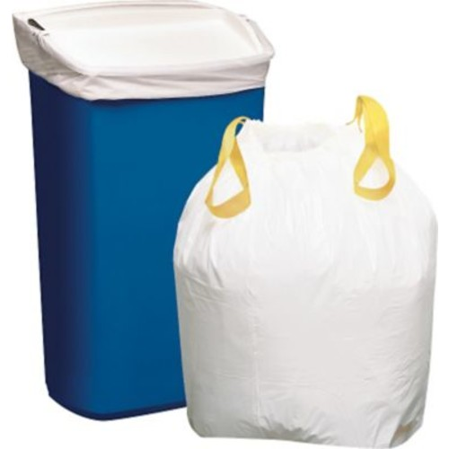 Brighton Professional Drawstring Kitchen Trash Bags, Assorted Packs and Sizes