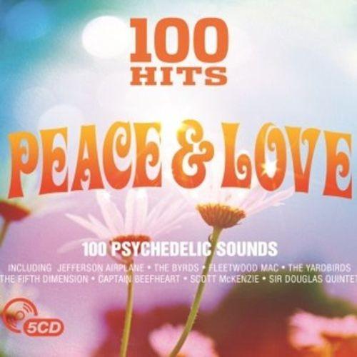 100 Hits: Peace & Love [CD]
