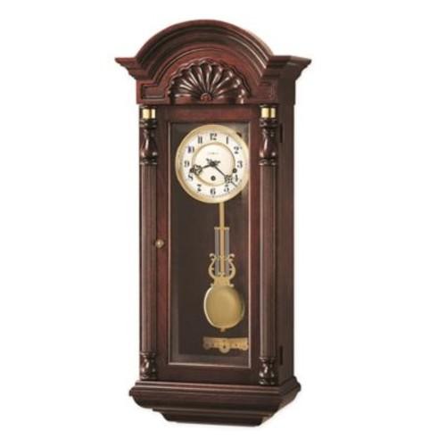 Howard Miller Jennison Wall Clock in Vintage Mahogany
