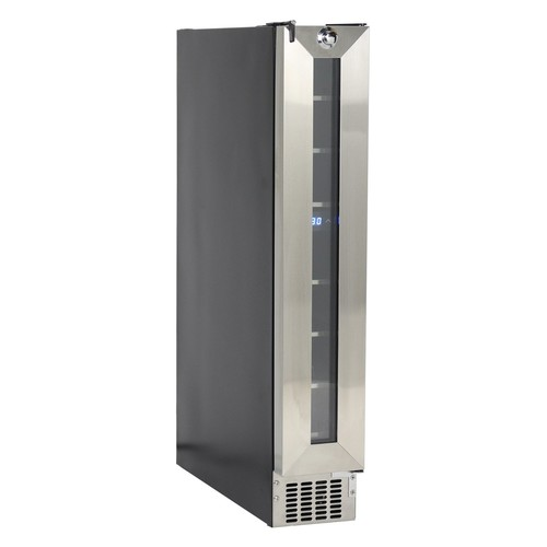 Equator Deco 7-Bottle Slim Wine Refrigerator in Stainless Steel