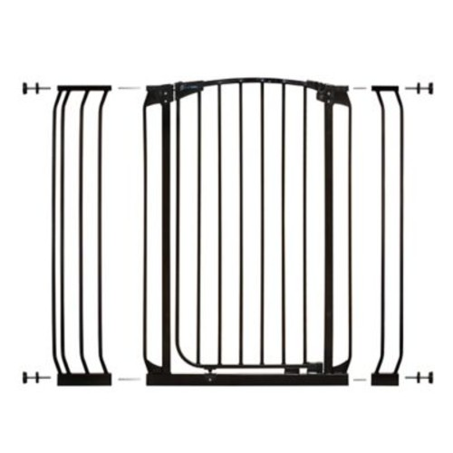 Dreambaby Chelsea Tall Auto Close Safety Gate; Black