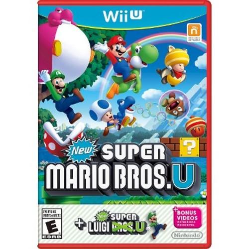 WiiU New SMB U+S Luigi U New Super Mario Bros. U
