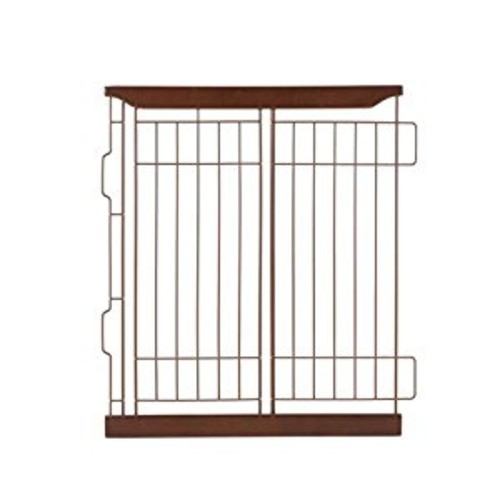 Richell Divider for Expandable Pet Crate - Dark Brown [Dark Brown, Small]