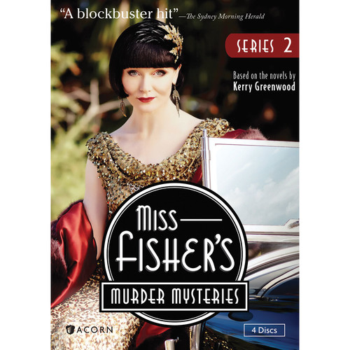 MISS FISHERS MURDER MYSTERIES-SERIES 2 (DVD/4 DISC) (DVD)