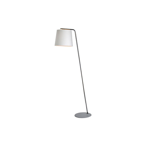 Galion Floor Lamp, Chrome