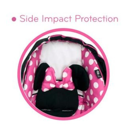 Safety 1st Disney Baby Light 'N Comfy Luxe Infant Car Seat - Minnie Dot