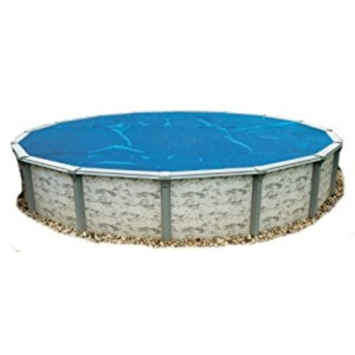 Blue Wave 28-Feet Round 8-mil Solar Blanket for Above Ground Pools, Blue [28-Feet]
