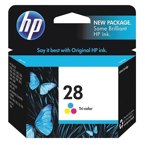 HP Ink Cartridge, No. 28, Tri-Color