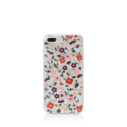 Jeweled Boho Floral iPhone 7 Plus/8 Plus Case