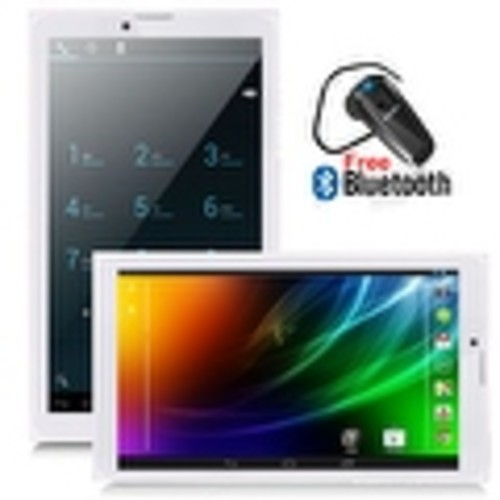 Indigi 7inch Factory Unlocked 3G SmartPhone 2-in-1 Phablet Android 4.4 KitKat Tablet PC w/ WiFi + Bluetooth Included