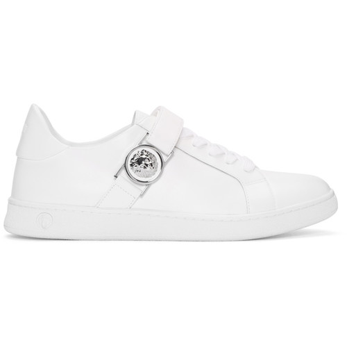 White Lion Medallion Sneakers