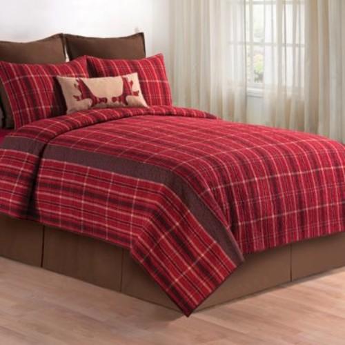 C&F Design Collin Red Quilt