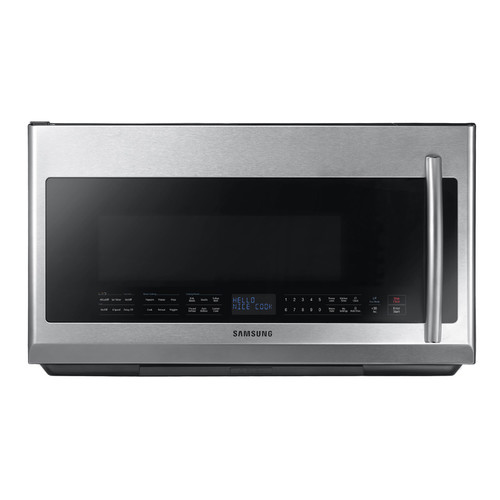 Samsung 2.1 Cu. Ft. Over-the-Range Microwave - Stainless Steel