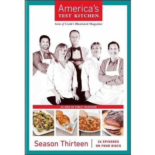 America's Test Kitchen: Season Thirteen [4 Discs] [DVD]