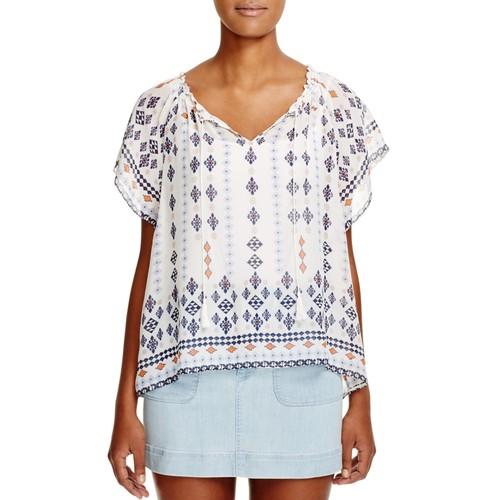 JOIE Arevig Printed Silk Top - 100% Bloomingdale'S Exclusive