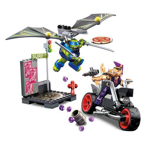 Mega Bloks Teenage Mutant Ninja Turtles - Leo Glider Pursuit