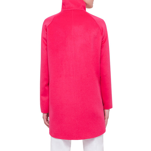 AKRIS Zip-Front Cashmere Parka Jacket, Long-Sleeve Stand-Collar Pullover & Melissa Techno Cotton/Silk Pants