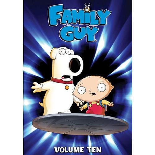 Family Guy Volume 10 3 Disc DVD