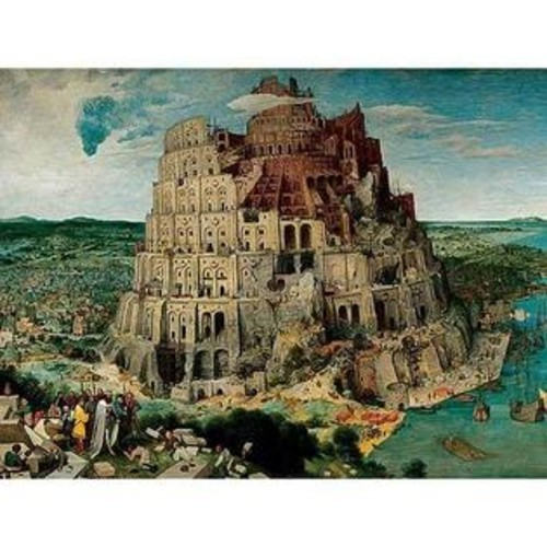 Ravensburger 5000-piece Tower of Babel Jigsaw Puzzle
