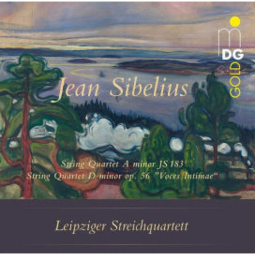 Jean Sibelius: String Quartet a minor JS 183; String Quartet D minor op. 56