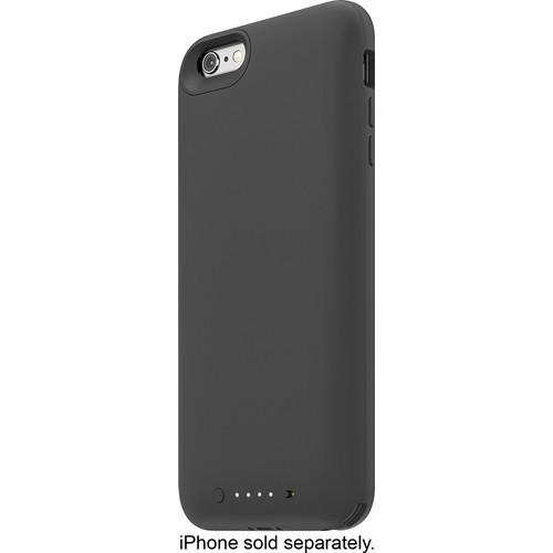 mophie - Juice Pack External Battery Case for Apple iPhone 6 Plus and 6s Plus - Black