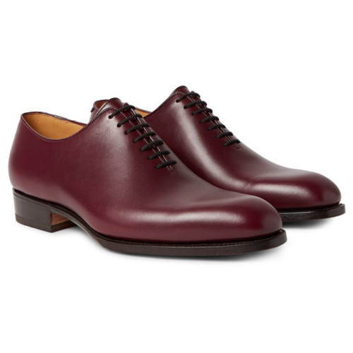 J.M. Weston - 404 Claridge Whole-Cut Leather Oxford Shoes