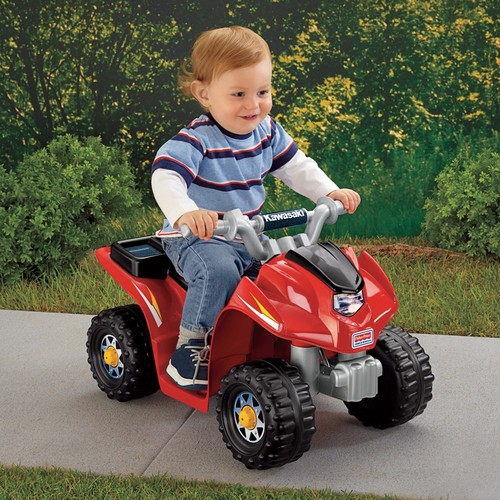 Fisher Price Bicycles, Ride-On Toys & Scooters Fisher-Price Power Wheels Lil' Quad