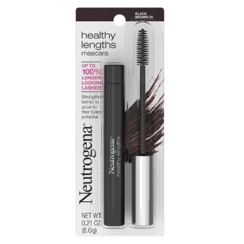 Neutrogena Healthy Lengths Mascara, Black/Brown 03, 0.21 oz