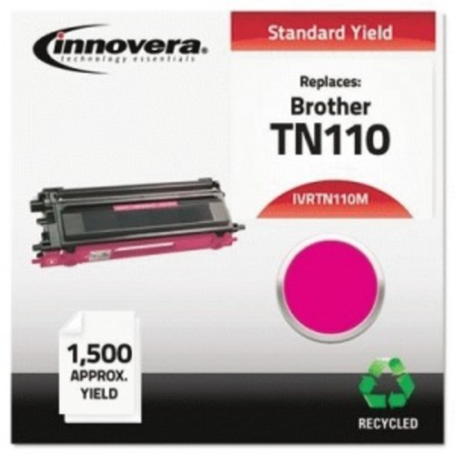 Innovera Toner Cartridge - Remanufactured for Brother (TN110M) - Magenta - Laser - Standard Yield - 1500 Page - 1 Each