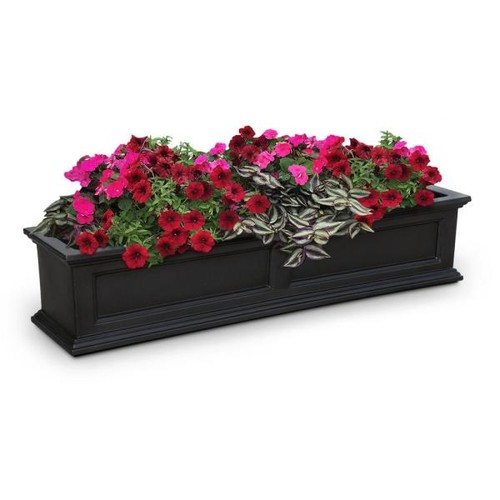 Mayne Fairfield 11 in. x 60 in. Plastic Window Box