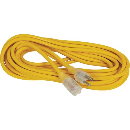 JMK/IIT Heavy-Duty Extension Cord with LED  25ft.L, 16/3 Ga.