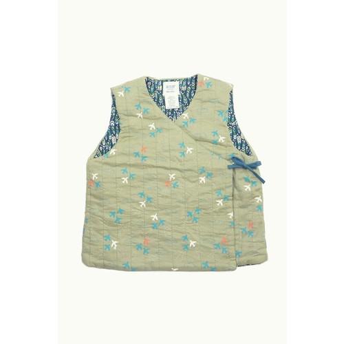 Reversible Kimono Vest