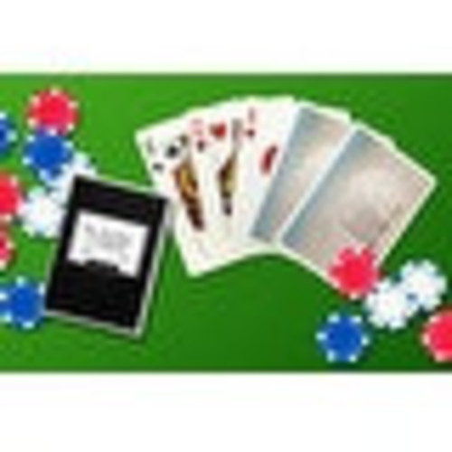 Sand Dollar on Beach - LP Photography (Poker Playing Cards Deck)